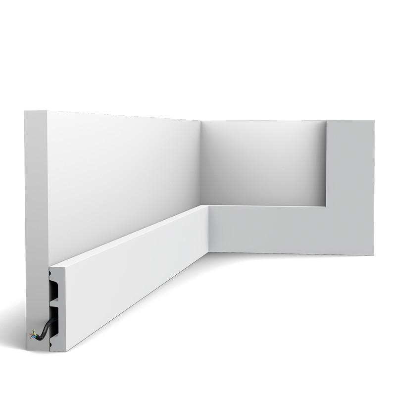 Orac Decor Zócalo DX157-2300-RAL9003 Square