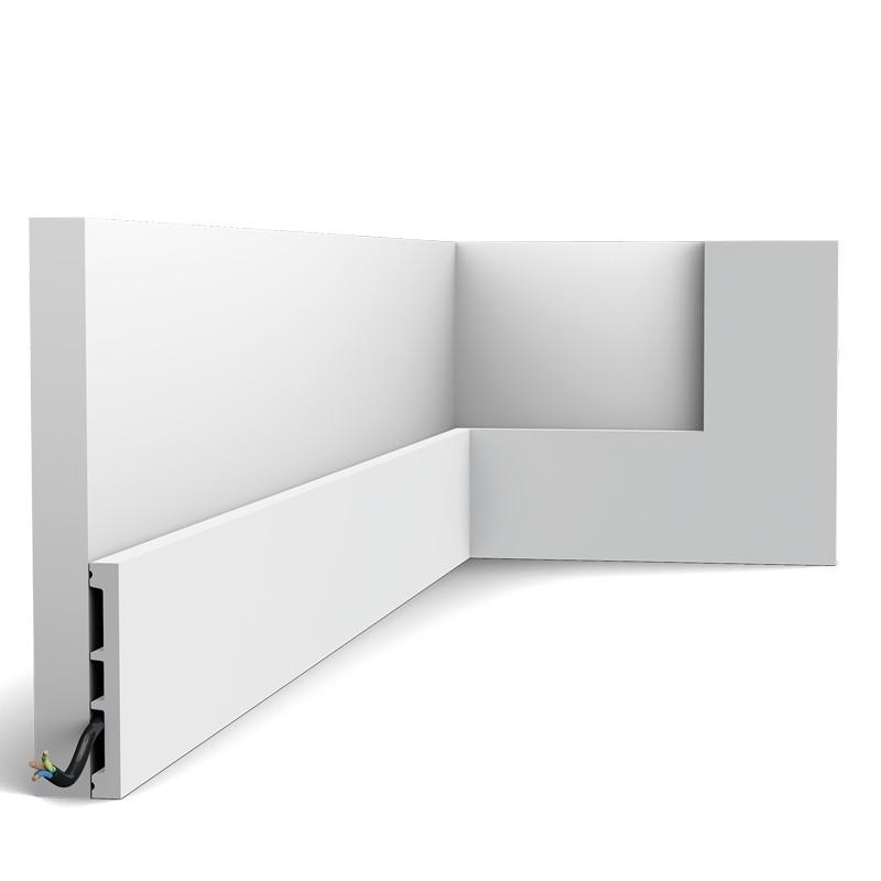 Orac Decor Zócalo DX163-2300-RAL9003 Square