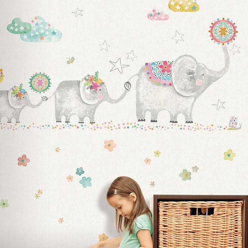 Mural infantil Colowall Oh la la 257-3551-1