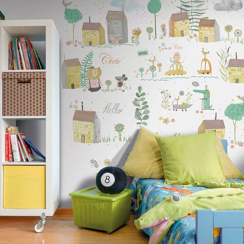 Mural infantil Colowall Oh la la 257-3550-1