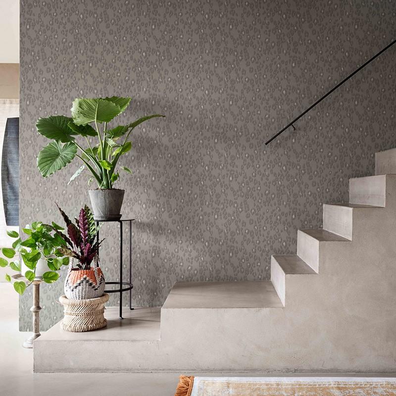 Papel pintado La Maison Grand Sauvage Exuberant Leopard GRS554