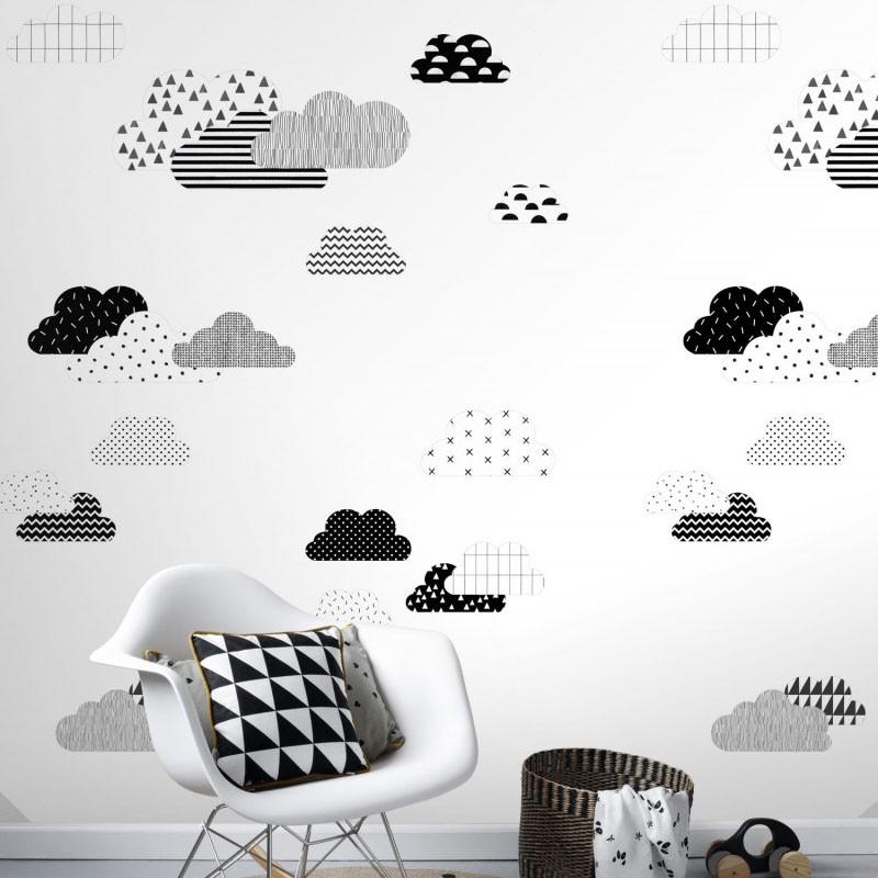 Mural infantil ESTAhome Let's Play!  Clouds 153-158922