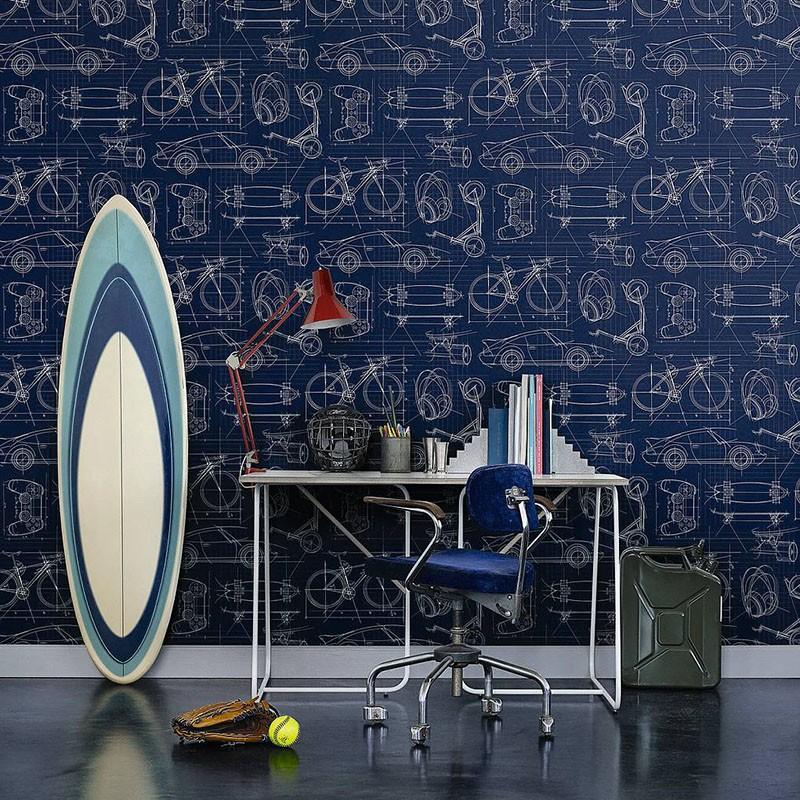 Papel Pintado Fiona Walldesign No Limits Technic 641026