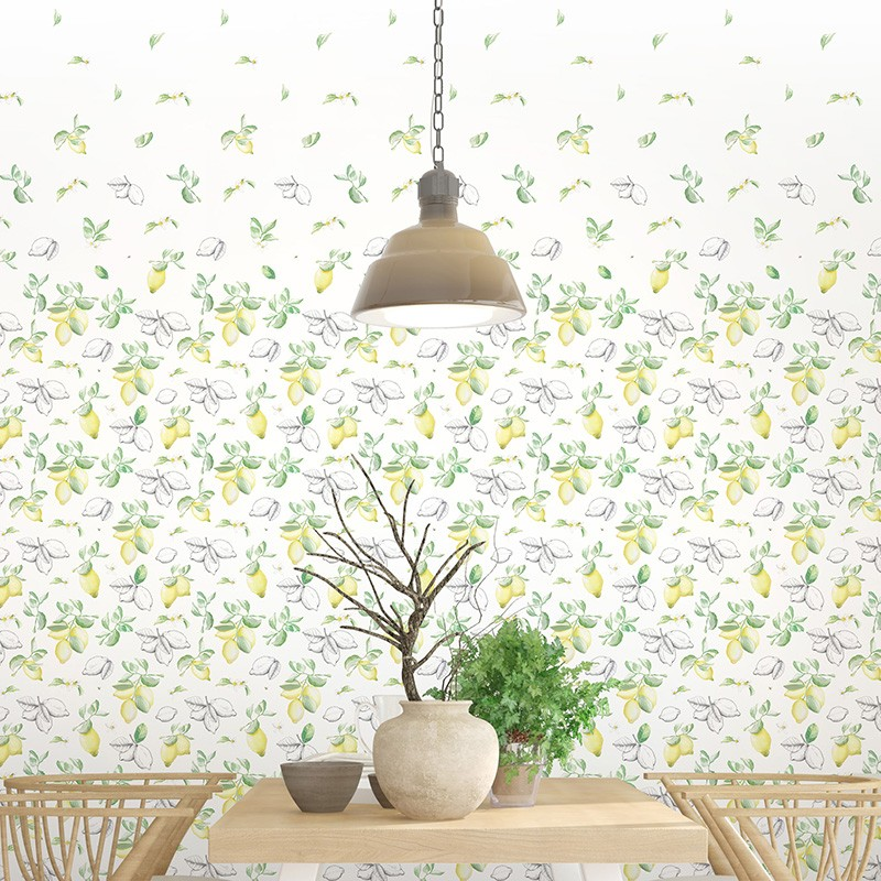 Mural decorativo AtelierWall Collection 2021 Yelow Parfume A20 011