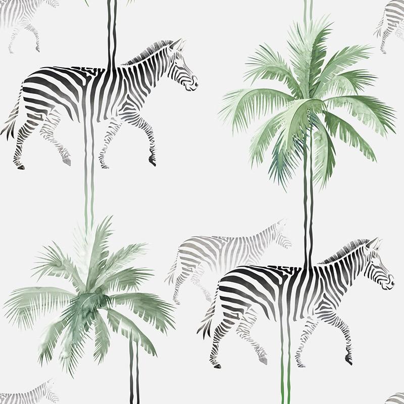 Papel Pintado AtelierWall Collection 2021 Zebra A20 013