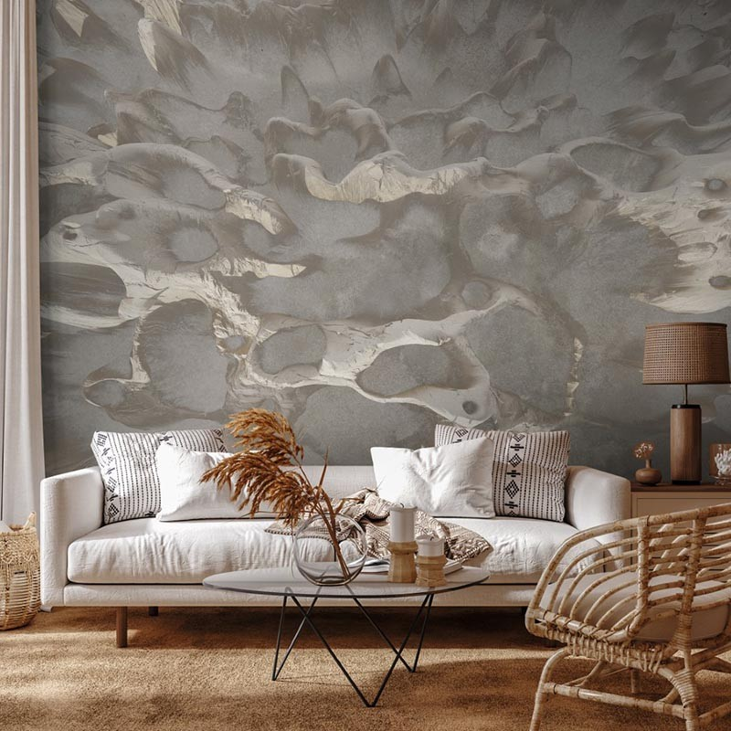 Mural Muance Collection 3 Amber Coral on the Wall MU13094