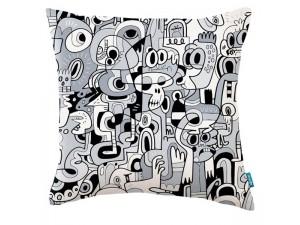 Cojín Kirkby Design x Jon Burgerman KDC5140-01