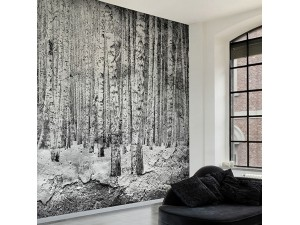 Mural Coordonné Random Papers Broken Forest 6500201N A