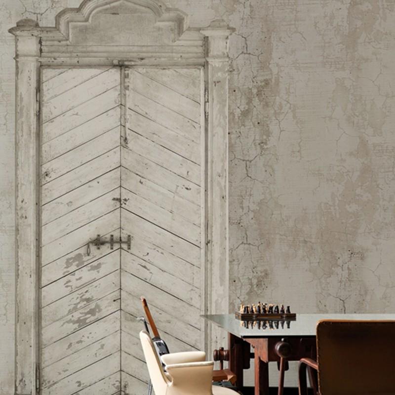 Mural Wall&Decò Contemporary Wallpapers 2012 Knock Knock WDKK1201 A