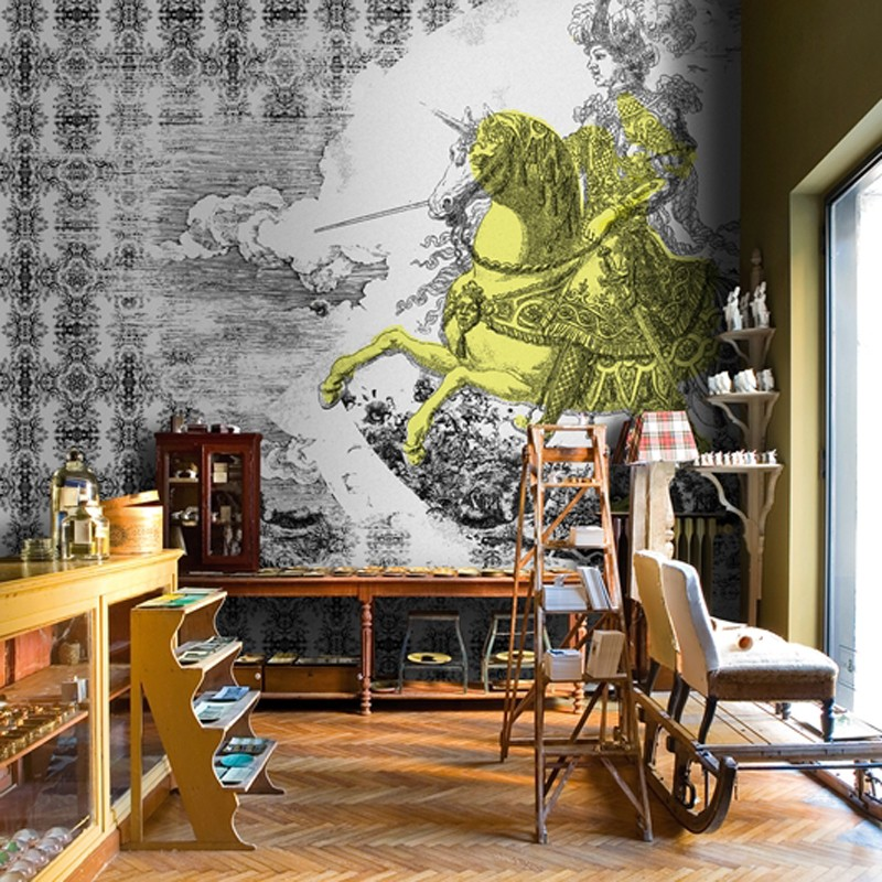 Mural Wall&Decò Contemporary Wallpapers 2013 Conquistadores WDCO1301 A