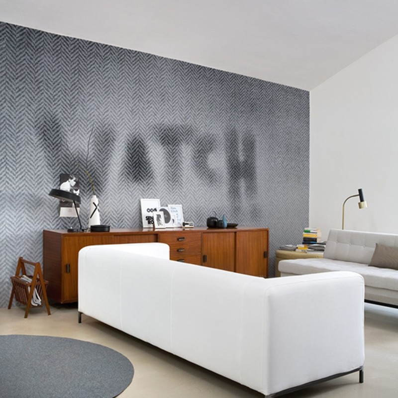 Mural Wall&Decò Contemporary Wallpapers 2013 Watch WDWA1301 A