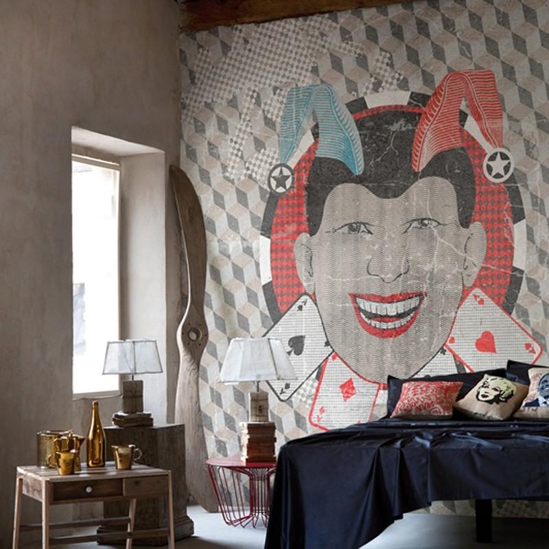 Mural Wall&Decò Contemporary Wallpapers 2013 The Joker WDTJ1301 A