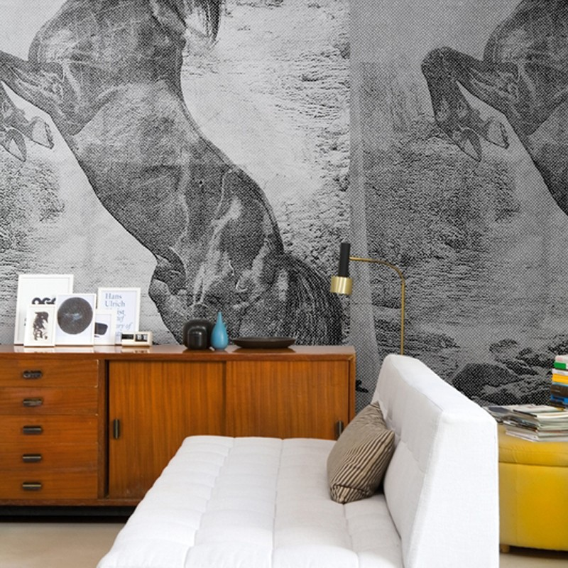 Mural Wall&Decò Contemporary Wallpapers 2013 El caballo de Andy WDEC1301 A