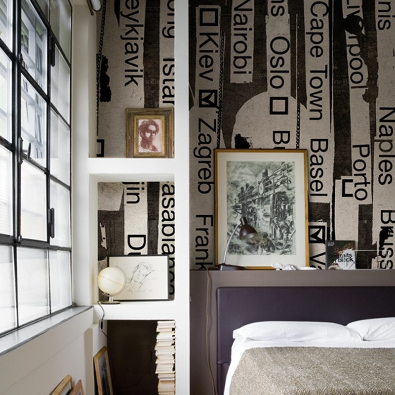 Mural Wall&Decò Contemporary Wallpapers 2013 Round the World WDRW1301 A