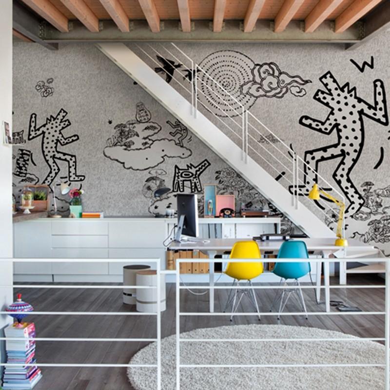 Mural Wall&Decò Contemporary Wallpapers 2014 Keith Bau WDKB1402 A
