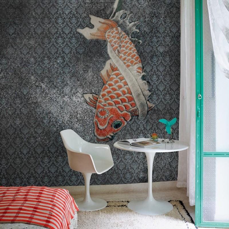 Mural Wall&Decò Contemporary Wallpapers Anniversary Tangerine WDAN15TA A