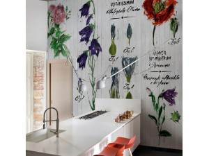 Mural Wall&Decò Contemporary Wallpapers 2015 Pianthus WDPI1501 A
