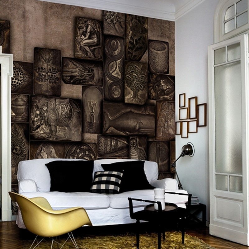 Mural Wall&Decò Contemporary Wallpapers 2015 Relief WDRE1502 A