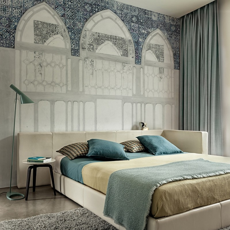 Mural Wall&Decò Contemporary Wallpapers 2015 Leon Battista WDLB1501 A