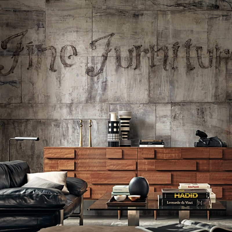 Mural Wall&Decò Contemporary Wallpapers 2015 Furniture WDFU1501 A