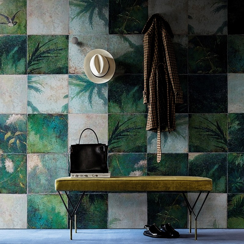 Mural Wall&Decò Contemporary Wallpapers 2016 Exotic Damier WDEX1601 A