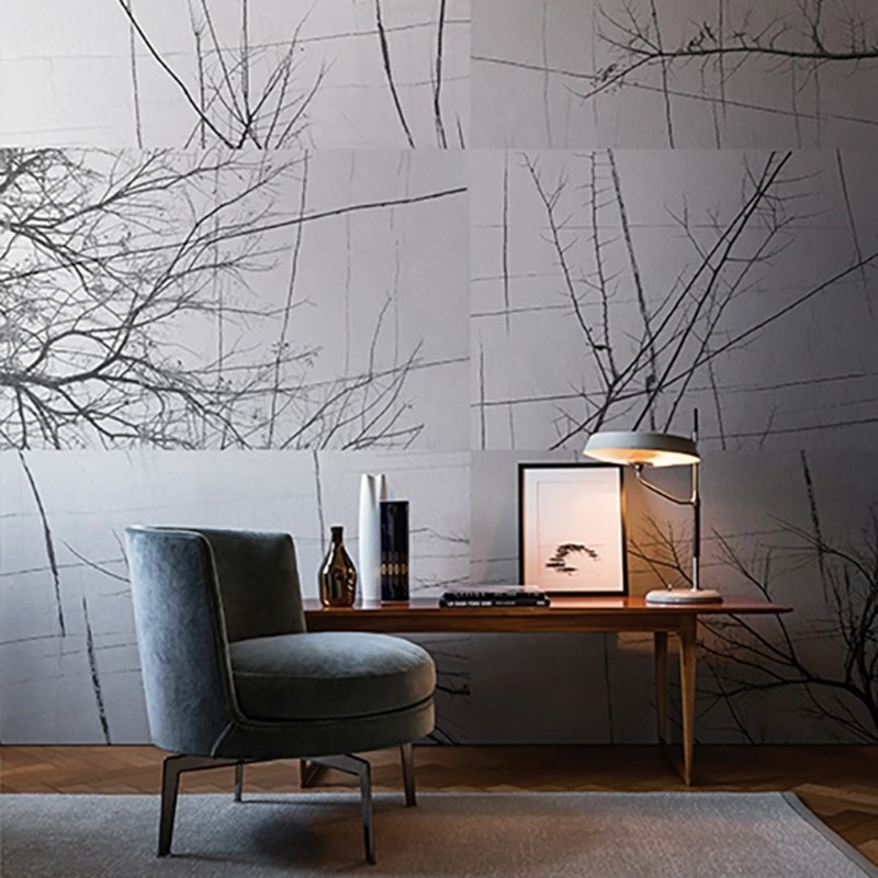 Mural Wall&Decò Contemporary Wallpapers 2017 Bois d'Hiver WDBH1701 A