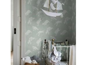 Papel pintado infantil Boras Tapeter Scandinavian Designers Mini 6258 A