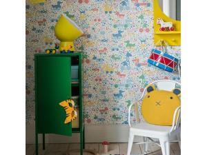 Papel pintado infantil Boras Tapeter Scandinavian Designers Mini 6237 A