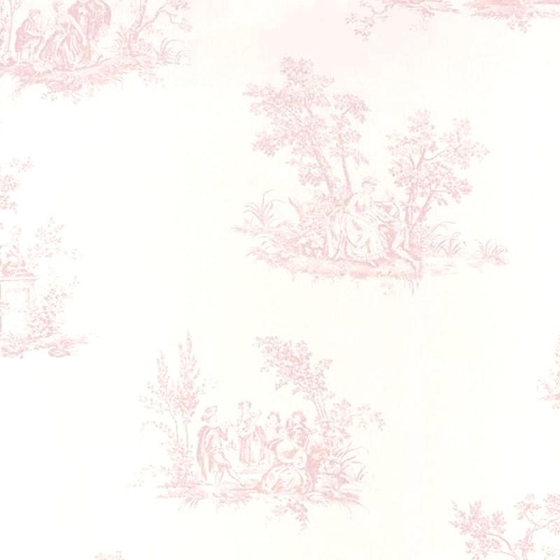Papel pintado Casadeco Fontainebleau Scène Bucolique FONT81514101