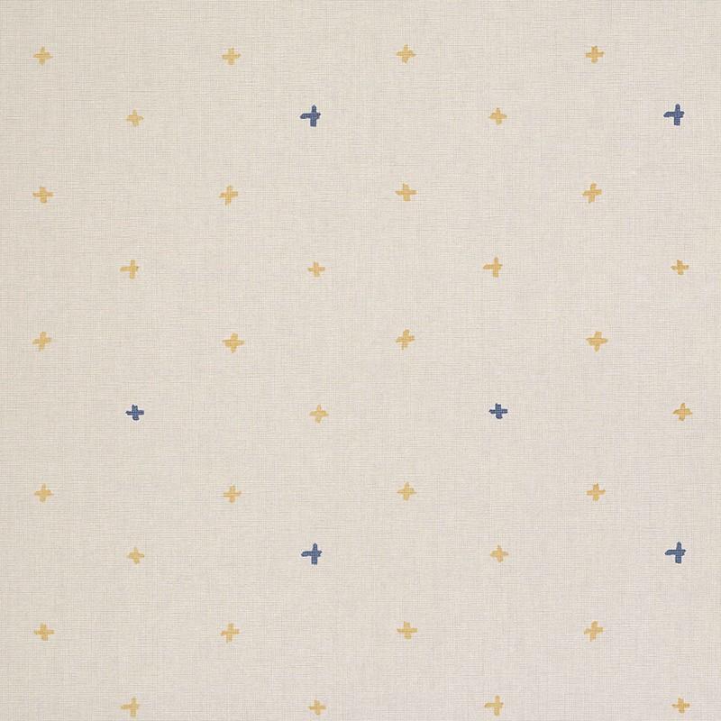 Papel pintado Ines de la Fressange Croix Mustard 6900041