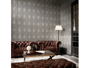 Papel pintado Arte International Flamant Caractere Heritage Cimento 12012 A