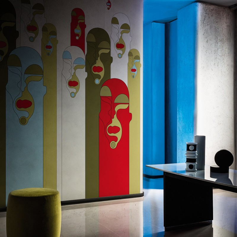 Mural Wall&Decò Contemporary Wallpapers 2018 Alter Ego WDAE1801 A