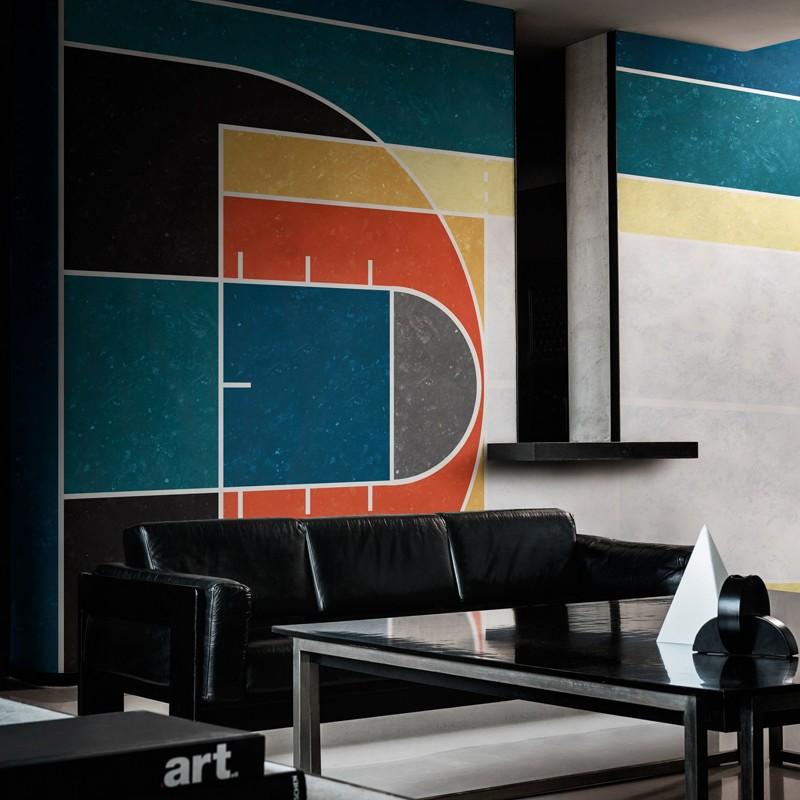 Mural Wall&Decò Contemporary Wallpapers 2018 Fair Play WDFP1801 A