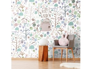 Mural infantil BN Wallcoverings Smalltalk 30803 A