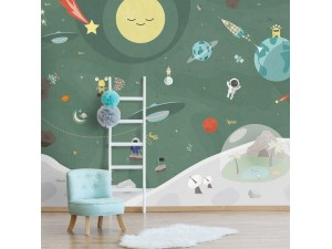 Mural infantil BN Wallcoverings Smalltalk 30805 A