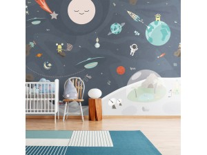 Mural infantil BN Wallcoverings Smalltalk 30806 A