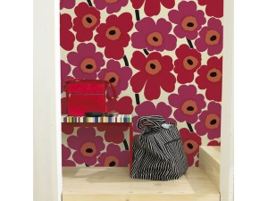 Papel pintado Marimekko Wallcoverings nº 5 Unikko 23354 A