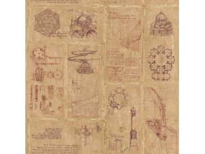 Papel pintado Janelli & Volpi Leonardo Schizzi 23030