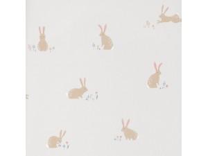 Papel pintado infantil Casadeco Happy Dreams Bunny HPDM82746110
