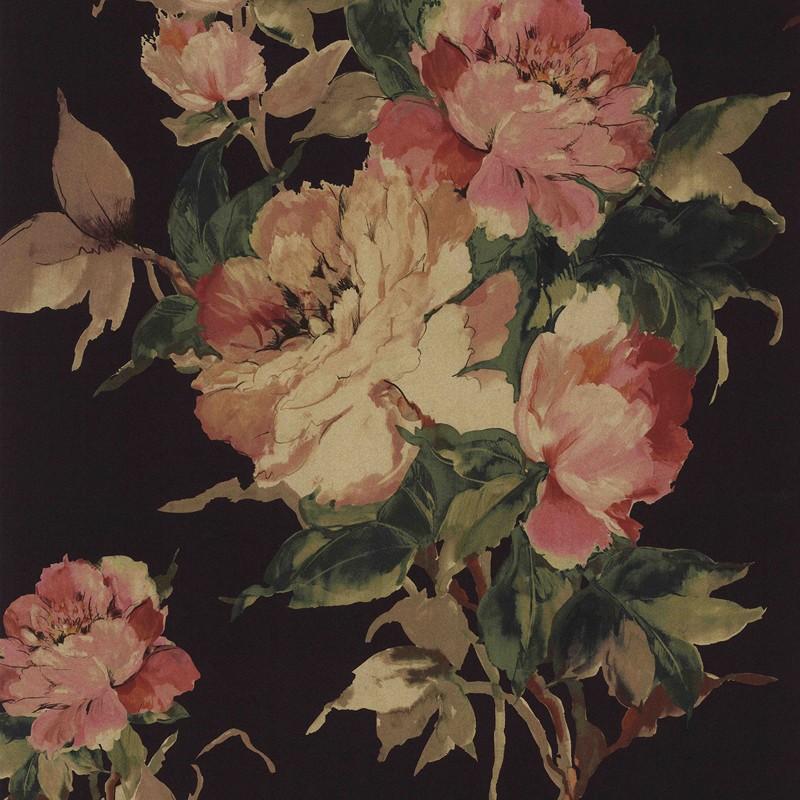 Papel pintado 1838 Wallcoverings Camellia Madama Butterfly 1703-108-06