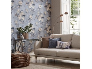 Papel pintado 1838 Wallcoverings Camellia Madama Butterfly 1703-108-04