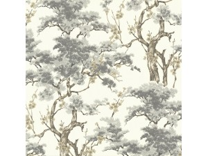 Papel pintado 1838 Wallcoverings Avington Harewood 1602-100-04