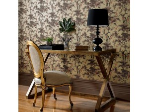 Papel pintado 1838 Wallcoverings Avington Harewood 1602-100-03 a