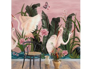 Mural Coordonné 40 th Anniversary Laura Torroba Wetlands 8000059-N