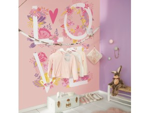 Mural infantil Caselio Girl Power Love GPR100994220