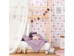 Papel pintado infantil Caselio Girl Power Shine Bright Like a Diamond GPR100815721