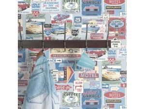 Papel pintado ICH Dans Lemur New Age Vintage 5002-1