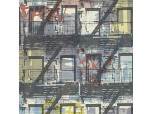 Papel pintado ICH Dans Lemur New Age Graffity 5001-2