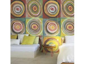 Mural Janelli Volpi Composition tribute to Kandinsdy Studi di Cerchi 24095