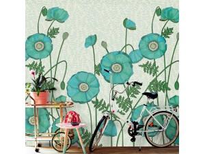Mural Eijffinger Rice 2 Poppies 383610